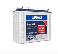 Luminous 220AH 12V Wetcell Tall Tubular Battery