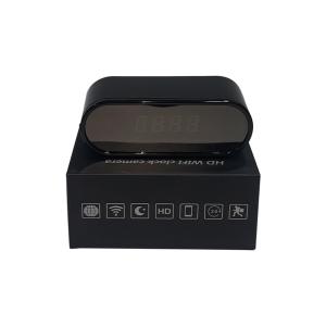 Wireless clock face full HD spy camera