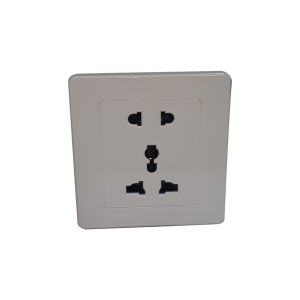 Wireless wall socket spy camera