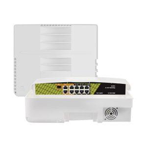 Genata 8 Ports Switch- Crosstech Limited